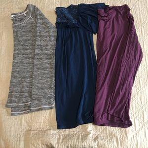 3 piece bundle 2 Ella Moss 1 Splendid tops